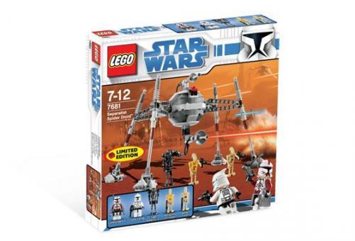 Конструктор Lego Star Wars Дроид-паук сепаратистов