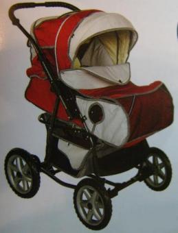 Детская коляска прогулочная КИНГ (на ремнях , тракт)