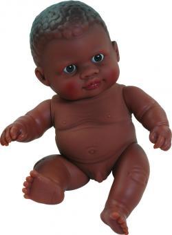 Кукла-пупс без одежды, мальчик мулат, 22см