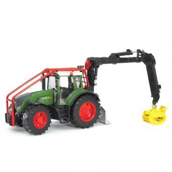 Трактор Fendt 936 Vario лесной с манипулятором