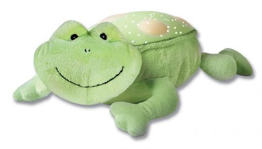 Светильник-проектор звездного неба (зеленая лягушка)