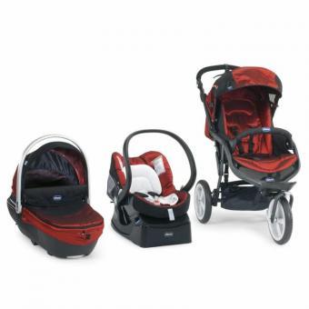 Комбинированная детская коляска 3 в 1 Chicco Trio S3 Top