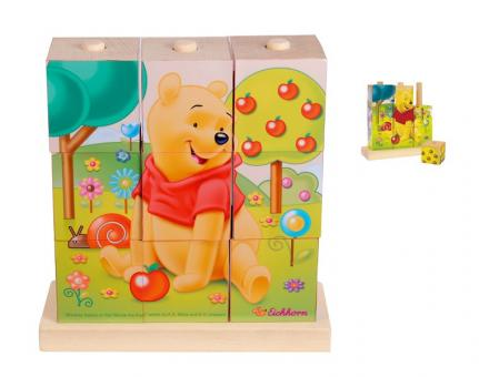 Пазл-кубики  Винни-Пух