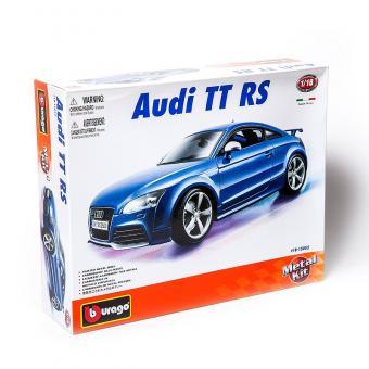 Машина СБОРКА AUDI TT RS металл.  1:18