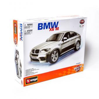 Машина СБОРКА BMW X6M металл.  1:18