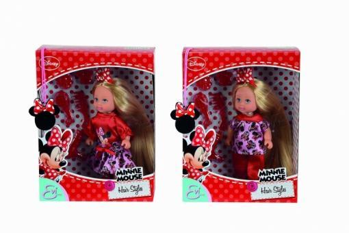 Еви Minnie Mouse длинные волосы, 12 см., 2 в.