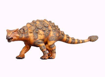 Фигурка Анкилозавр (коричневый), 17 см