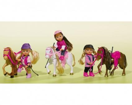 Кукла Еви с пони Evi Pony, 4 вида