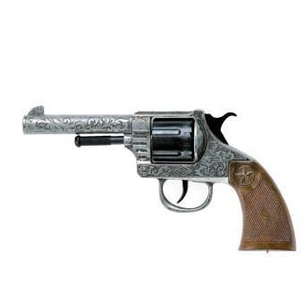 Металлический 12-зарядный револьвер OREGON ANTIK
