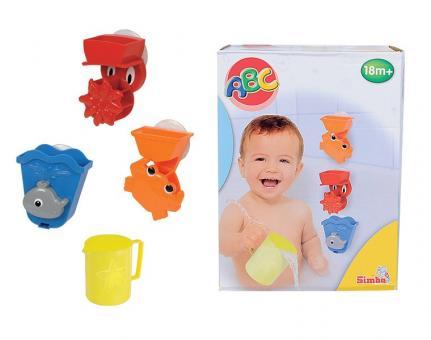 Набор игрушек для ванной, 4 предмета