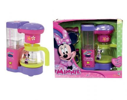 Кофеварка Minnie Mouse, 19 см св, зв, вода