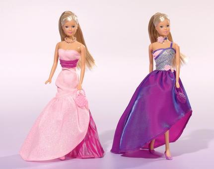 Кукла Штеффи в сказочном платье с акс., 2 вида