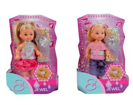 Кукла Еви с колечком Evi Jewel, 2 вида