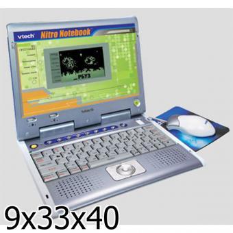 Обучающий Компьютер Vtech Nitro Notebook™ Руссиф. 80 Программ, 2 Доп. Картриджа