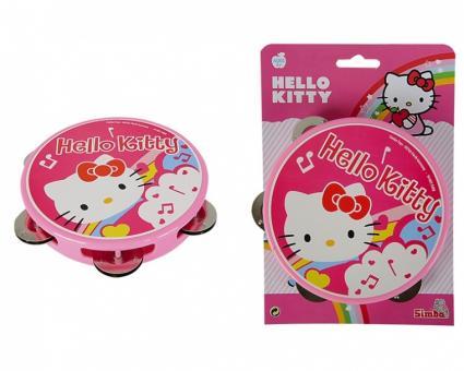 Музыкальный бубен Hello Kitty