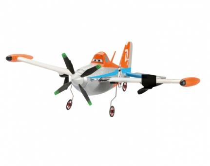Самолет Дасти на р/у летающий, 1:20, 25 см.