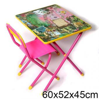 Набор мебели Дэми №3 (розовый)