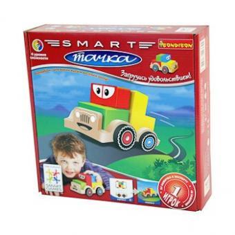SmartGames Логическая игра Smart Тачка