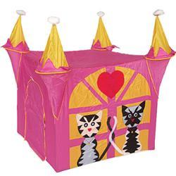 Игровой домик-палатка Кошкин дом, розовый