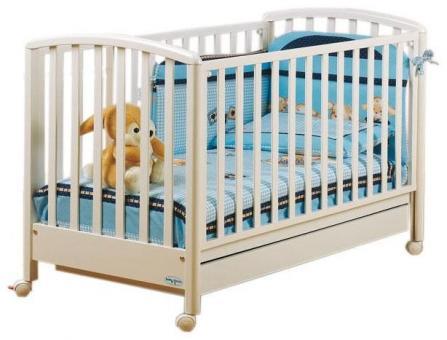 Кроватка BABY ITALIA Dalia (ДАЛИЯ 65*125) белый