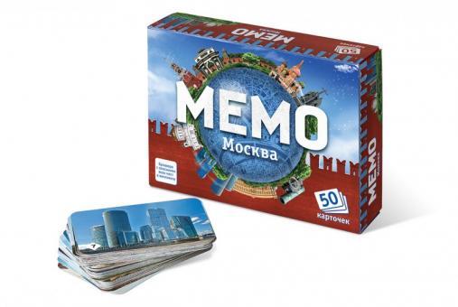 Игра Memo Москва (50 карточек) Мемо