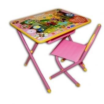 Набор детской мебели  №3 Союзмультфильм    синий – львенок и черепаха