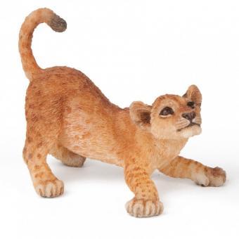 Фигурка Играющий львенок, 5 см