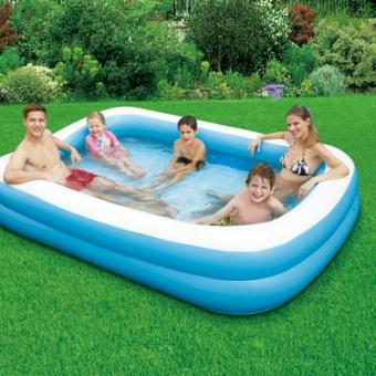 Надувной семейный бассейн