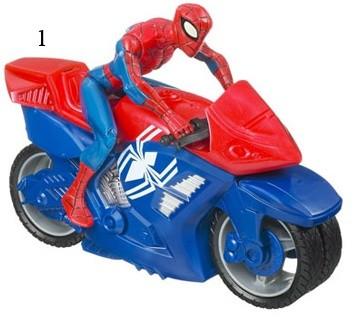 MARVEL Человек-Паук на транспортном средстве в ассорт