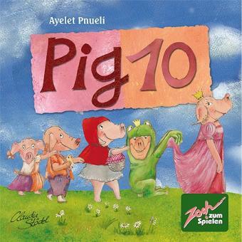 Настольная карточная игра 10 свинок (Pig 10)