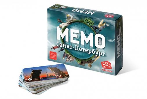 Игра Memo Санкт-Петербург (50 карточек) Мемо
