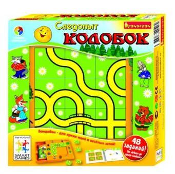 SmartGames Логическая игра Следопыт Колобок