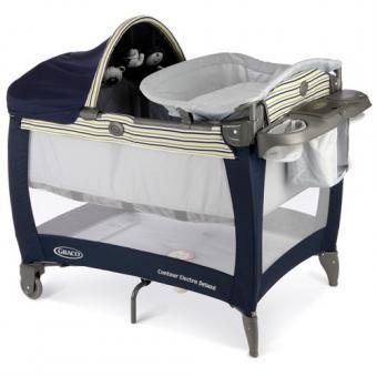 Детский манеж- кроватка Graco Electra Deluxe