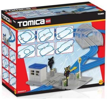 Tomica Набор из рельсов и стрелок для развода путей (26 частей, 6 схем возможной сборки)