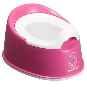 Горшок детский BabyBjorn Smart Розовый