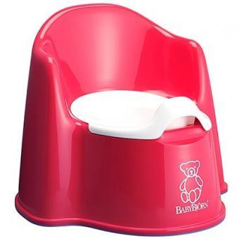 Горшок-кресло детский BabyBjorn Красный