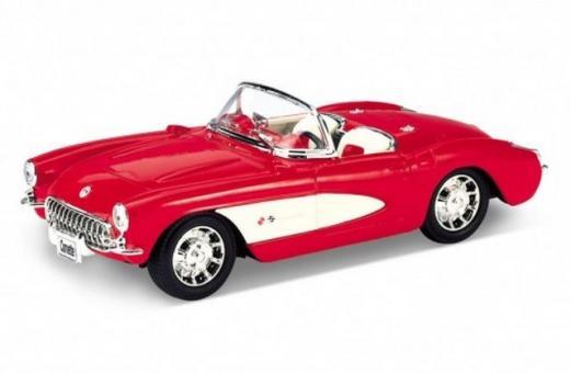 Модель винтажной машины 1:24 Chevrolet Corvette 1957