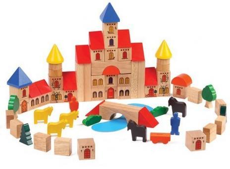 Конструктор деревянный Замок