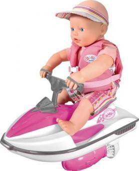 Кукла my little BABY born на водном скутере