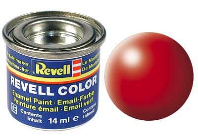 Краска светящаяся красная РАЛ 3026 шелково-матовая