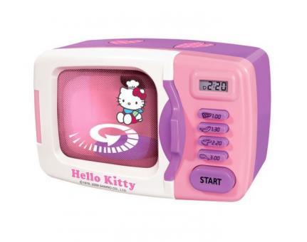 Микроволновая печь с набором продктов Hello Kitty