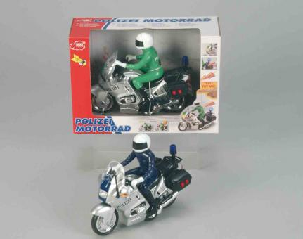Функциональный полицейский мотоцикл