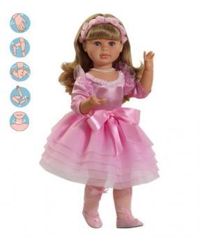 Шарнирная Кукла Балерина, 60 см