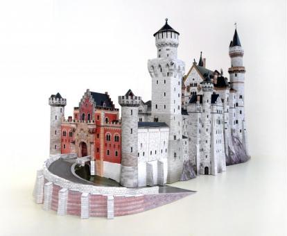 Набор для творчества из картона Замок Neuschwanstein