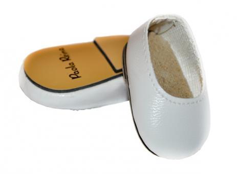 Обувь для кукол 32 см, Туфли белые