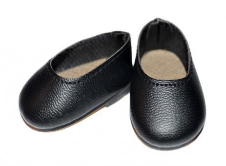 Обувь для кукол 32 см, Туфли черные