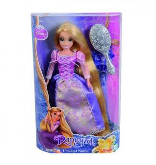 Кукла Принцесса Рапунцель с длинными волосами + расческа
