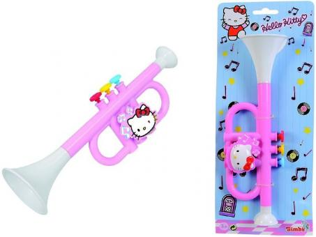 Музыкальная труба Hello Kitty