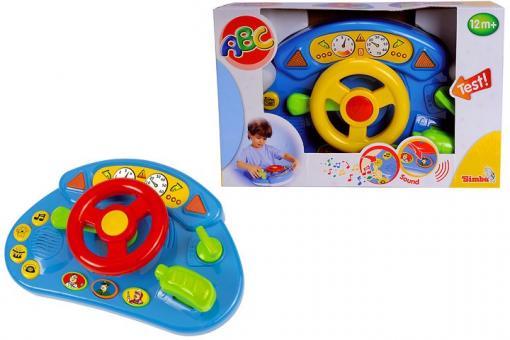 Музыкальный руль для малышей