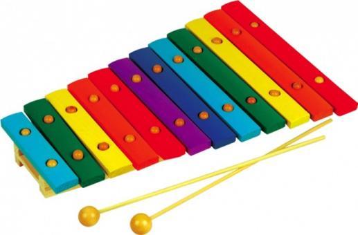 Ксилофон 12 тонов
